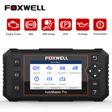 Foxwell NT614 Elite OBD2 Car Diagnostic Tool OBD2 Code Reader ENG/ABS/SRS/SAS+EPB/Oil Service Reset ODB2 OBD2 Automotive Scanner