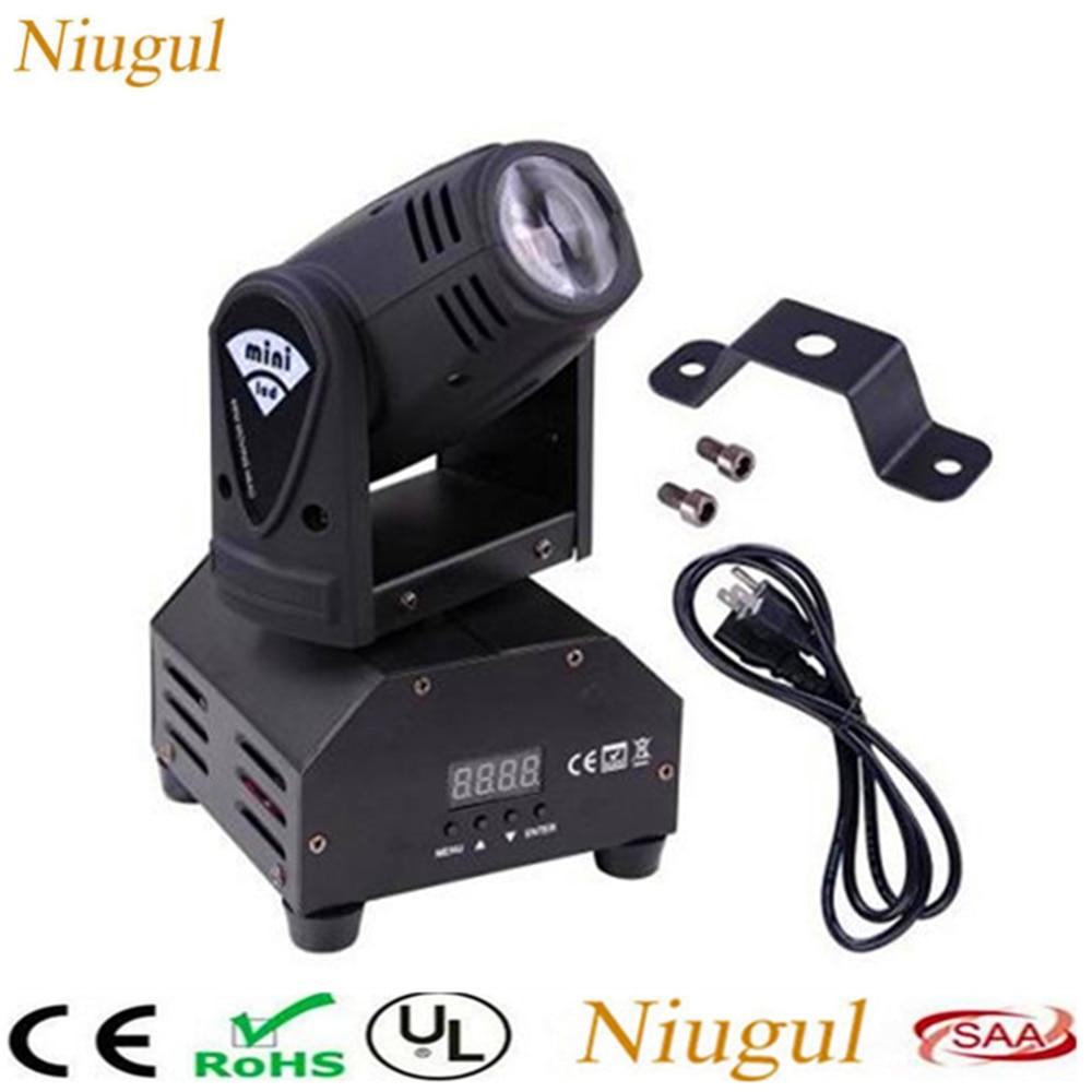 10W Mini Beam LED Moving Head Light/Disco DJ Spot Lighting/LED Spotlight/LED Pinspot Light/RGBW Linear Beam Effect Stage Lights