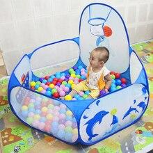Портативный складной детский игровой забор небольшой комбинированный парк развлечений Крытый открытый детские игрушки парк развлечений
