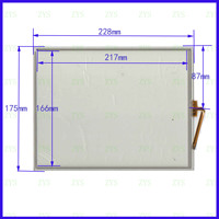 ZhiYuSun GP 1044A 10.4Inch 228*175mm 4Wire Resistive TouchScreen Panel Digitizer 228*175 for GPS CAR this is compatible