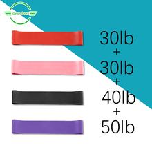 4pcs Training Fitness Gum Exercise Gym Strength Resistance Bands Pilates Sport Rubber Fitness Bands Yoga  Band Workout Equipment exercise fitness yoga resistance bands expander equipment fitness gym strength training loop band yoga pilates physical therapy