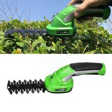 3.6V Li-Ion Cordless Electric Hedge Trimmer Grass Cutter Battery Mower Garden Rechargeable Lawn Tool Mini T3K3