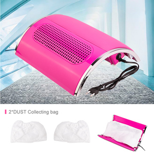 Image 5 - Powerful 3 Fan Nail Dust Suction Collector with 2 Dust Collecting Bags  Vacuum Cleaner Manicure Tools