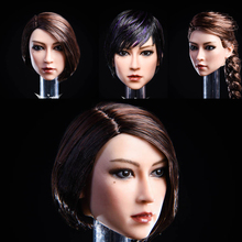 In Stock YMTOYS 1/6 YMT020 Female Asian YA Head Sculpt Carving with Planted for 12