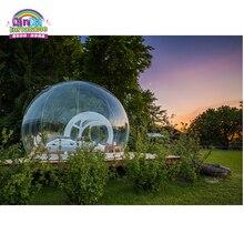 Подгонянный портативный надувной тент ясный пузырь палатка дом купол Кемпинг