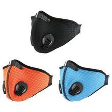 Велосипедная маска с активированным углем анти-защитные маски пылезащитный Горный Дорожный велосипед маски для лица покрытие для активного отдыха 4