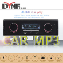 1din in-dash am/fm rádio do carro estéreo de controle remoto digital bluetooth áudio música estéreo 12v rádio do carro mp3 player usb/sd/AUX-IN