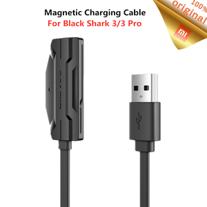 Image 1 - Xiaomi noir requin câble de charge magnétique pour requin noir 3/3 Pro 18W charge rapide Double face dos Adsorption 1.2M câble