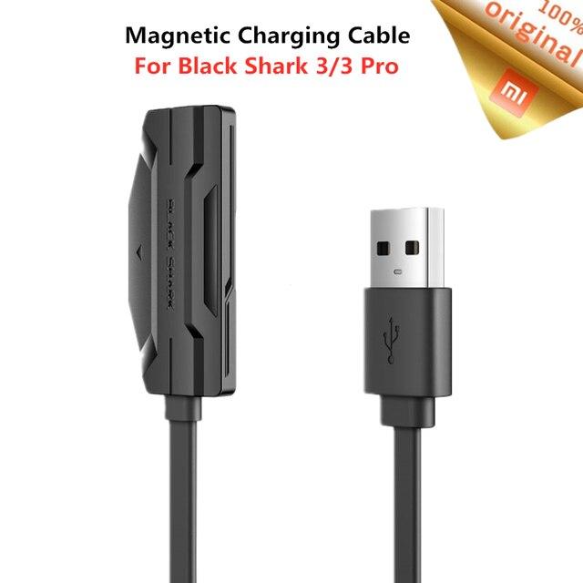 Xiaomi noir requin câble de charge magnétique pour requin noir 3/3 Pro 18W charge rapide Double face dos Adsorption 1.2M câble