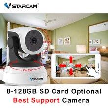 Vstarcam cámara IP C7824WIP, HD, WIFI, 720P, visión nocturna, seguridad del hogar, inalámbrica, P2P, cámara de interior, IR, PTZ, Audio, ONVIF