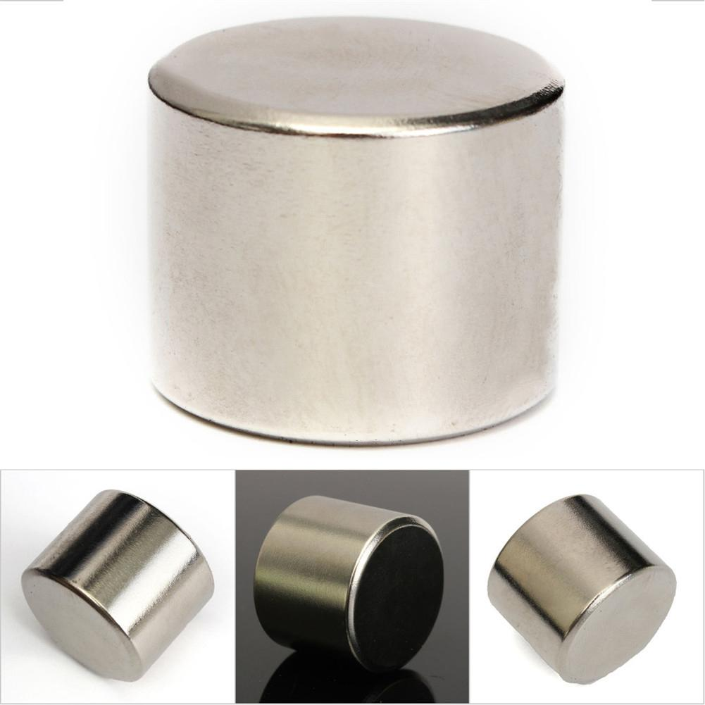 1 PCS Rare Earth Magnet 25x20mm Round Cylinder Magnet NdFeB Magnetic N52 Super Strong Round Magnet Rare Powerful Magnets