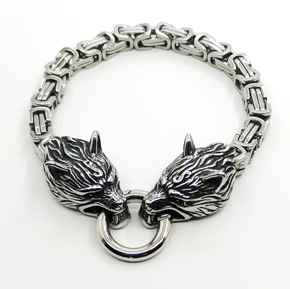 Men s stainless steel square chain bracelet fashion simple accessories bracelet