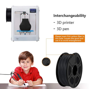 Image 4 - SUNLU PLA 탄소 섬유 프리미엄 3D 프린터 필라멘트 매우 단단한 탄소 섬유 1.75mm +/  0.02mm 1 KG (2.2 lb)