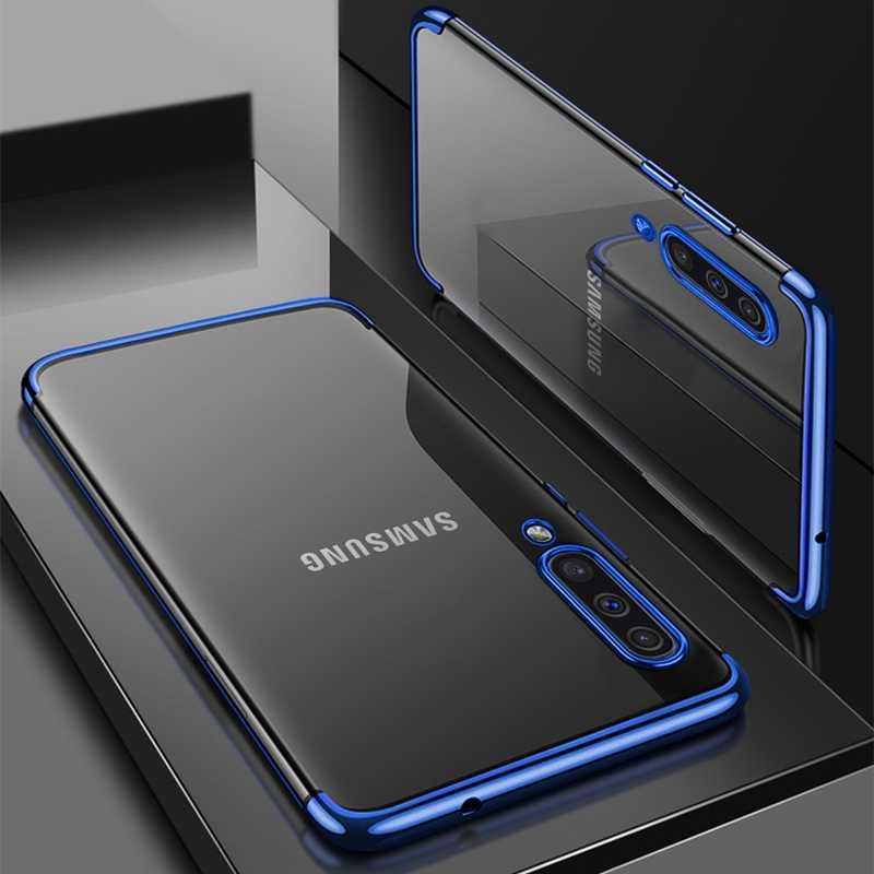 Para Samsung Galaxy A30 A50 A10 A20 A70 M20 A40 A20e A50s S20 S10 S8 S9 Plus Nota 10 A7 A8 de TPU suave funda de silicona