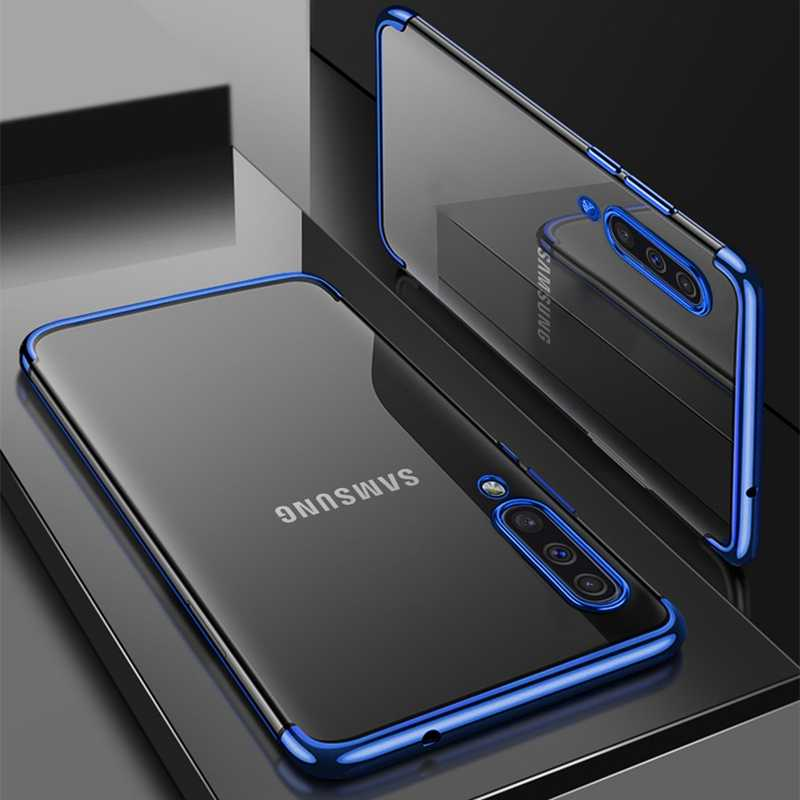 สำหรับ Samsung Galaxy A30 A50 A10 A20 A70 M20 A40 A20e A50s S20 S10 S8 S9 PLUS หมายเหตุ 10 a7 A8 TPU ฝาครอบซิลิโคน