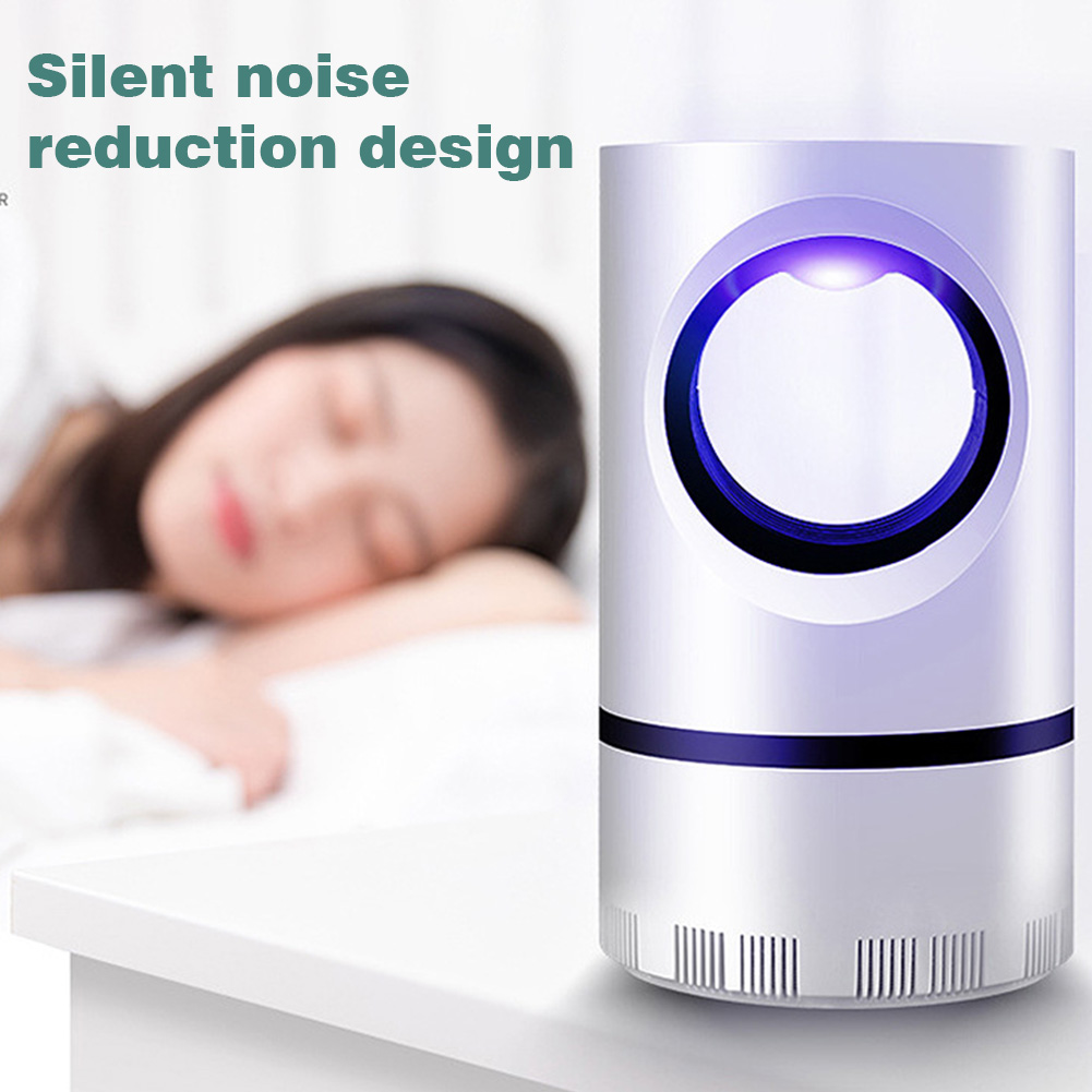 LED Light USB Powered Fly Pest Bedroom Electric Home 5V 5W Detachable Day Night Mosquito Killer Lamp Insect Repellent 3D Bionic