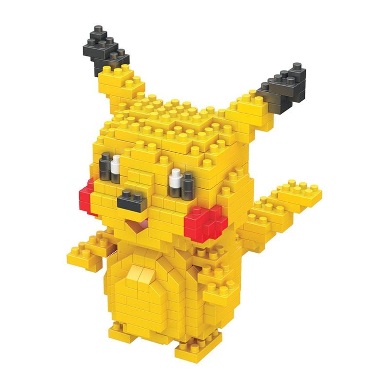 Pokemon Building Blocks Anime Figures Assembling Plastic Abs Diy Toys Creative Educational Model Toys for Children Boxed New 2