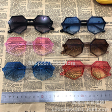 Children Sunglasses Pink Infantil Girls Oculos-De-Sol Toddler Blue Yellow Suqare Red