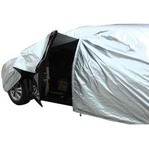 Image 2 - Water Proof Car Cover Dust Rain Stome UV Snow Sun Protection Covers Coat Hatchback Sedan SUV Outdoor Indoor Reflector Zipper D45