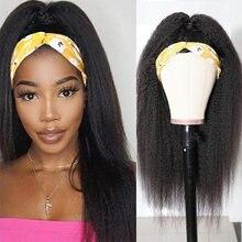 Курчавые прямые Парики yaki парик из человеческих волос для
