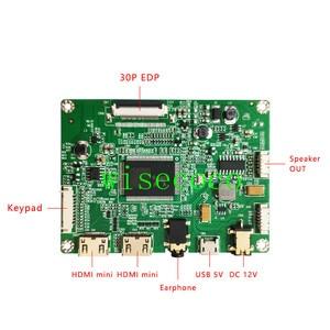 Image 4 - 13.3 inch 1920*1080 IPS LQ133M1JW15 LCD Screen Display  Mini USB Controller board 30 pin edp diy portable pc