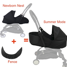 Baby Stroller Sleeping Basket 0 6M Newborn Birth Nest For Babyzen Yoyo Yoya Pram Infants Winter Sleep Bags Strollers Accessories