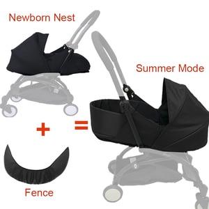 Image 1 - Carrinho de bebê, cesta para dormir 0 6m, recém nascidos, ninho para nascidos, babyzen yoyo yoya, bolsas para dormir de inverno acessórios para carrinhos