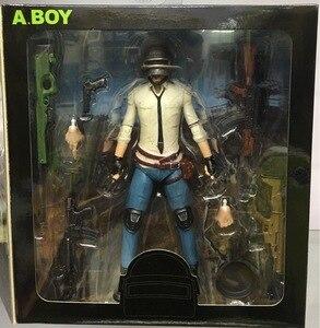 18cm Jedi Survival Battle Royale Garage Kit Model Doll Fortnites Figure Wilderness Figurine Decoration Toy(China)