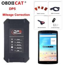 OBDIICAT Newest SUPER DP5 Android Diagnostic Tools Dp 5 OBDII Diagnosis +Key Programmer+Mileage Correction Reset Tool