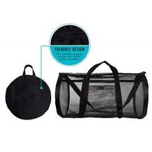 Storage-Bag Swimsuit Mesh Beach-Toy Sundries Nylon Multifunctional Quick-Drying Large-Capacity