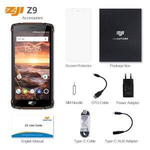 Image 5 - Homtom Zji Z9 Helio P23 IP68 Chống Thấm Nước 4G LTE Điện Thoại Thông Minh Octa Core 5.7 Inch RAM 6GB 64GB rom 5500 MAh Full Ban Nhạc Điện Thoại Di Động