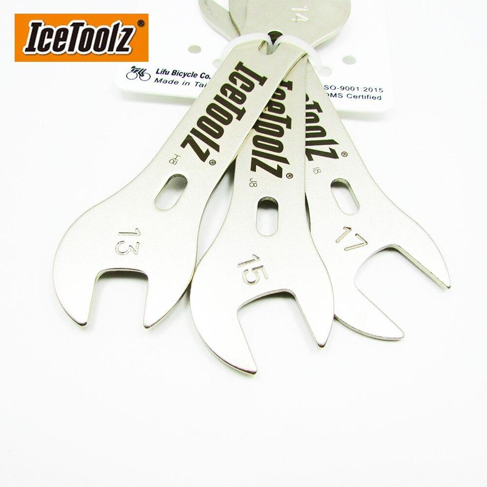 IceToolz Vélo Intérieur Camp Clé 11d3 8 positions Clé Outil Réparation