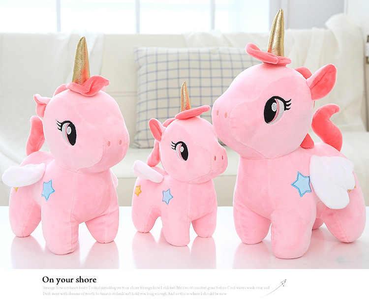 12cm Mignon Licorne En Peluche Jouet En Peluche Unicornio Poupées D'animaux De Dessin Animé Doux Jouets pour Enfants Fille Enfants Cadeau D'anniversaire