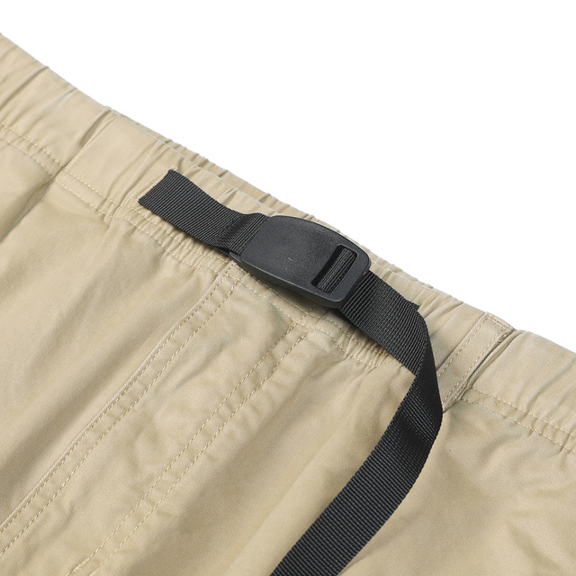 Tapered pants with ankle-length design