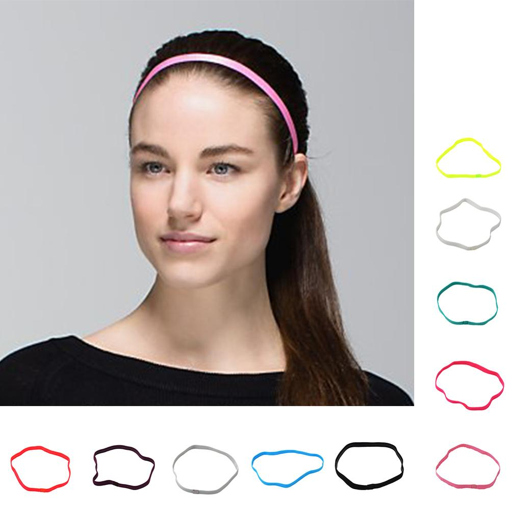 2019 Women Man Sport hair bands Sports headband girls sport Anti-slip Elastic Rubber Sweatband Drop Shipping yoga Football Run