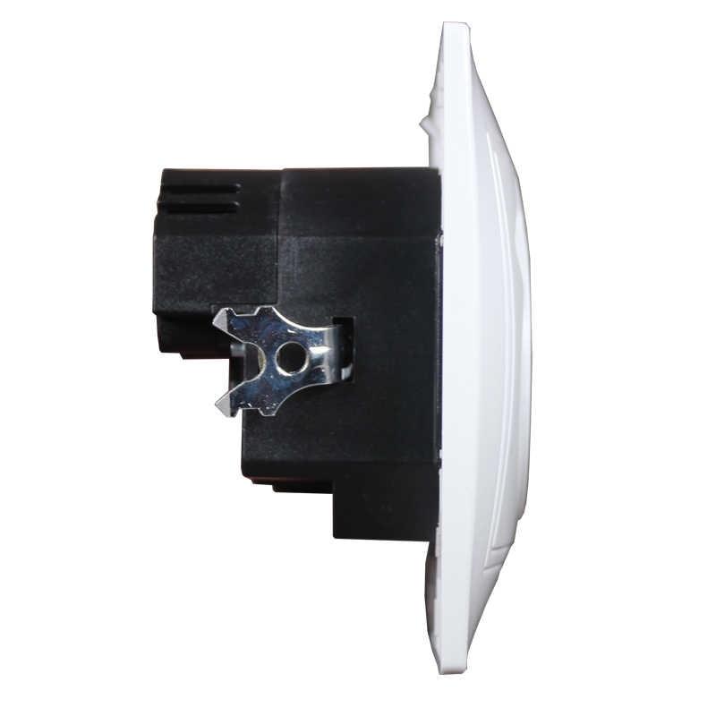 USB prise murale chargeur livraison gratuite Double Port USB 5V 2A Usb enchufes para prise haute qualité couleur blanche LM-01 TDM IEK