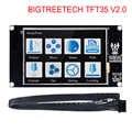 Bigtreetech tft35 v2.0 터치 스크린 스마트 컨트롤러 디스플레이 3.5 인치 터치 스크린 skr v1.3 mks gen v1.4 3d 프린터 부품