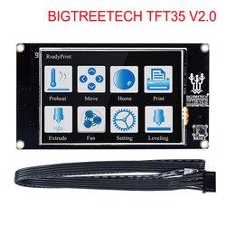 Bigtreetech tft35 v2.0 tela de toque inteligente controlador display 3.5 polegada tela toque para skr v1.3 mks gen v1.4 peças impressora 3d