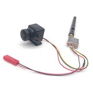 Image 4 - מוכן לשימוש 5.8G FPV סט 600mw וידאו משדר TS5828/מיני CMOS 1200TVL FPV מצלמה עם כבל עבור RC FPV מירוץ Drone