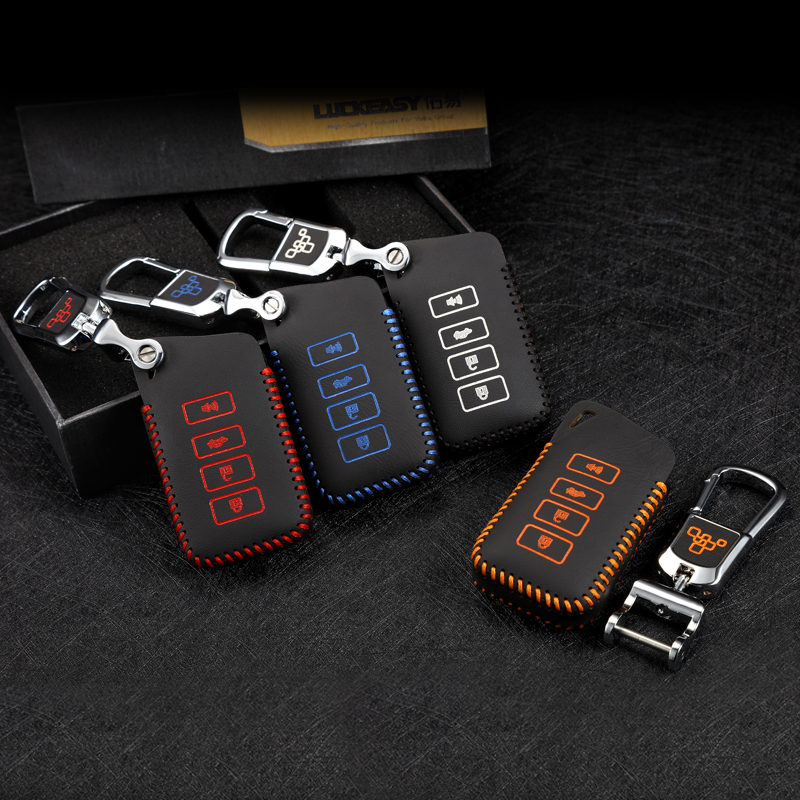 car key case cover 4 button for Lexus NX200 ES200 250 <font><b>RX200t</b></font> case Key shell ES RS GS IS LX NX remote keychain image