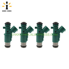 цена на CHKK-CHKK Car Accessory Fuel Injector 01F023 fuel injector for CITROEN C3 2002~2003 C2 2002 NEMO 2008~2009 1.1i 1.4i