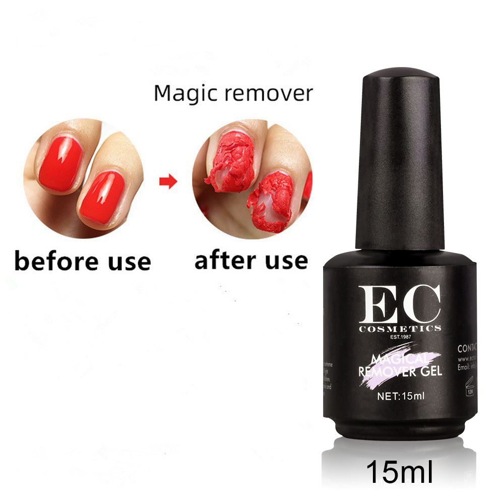 Gelike 2019 New Magic Burst Gel Nail Polish Remover Soak off UV Gel Primer Liquid Remove Nail 15ml in Nail Polish Remover from Beauty Health
