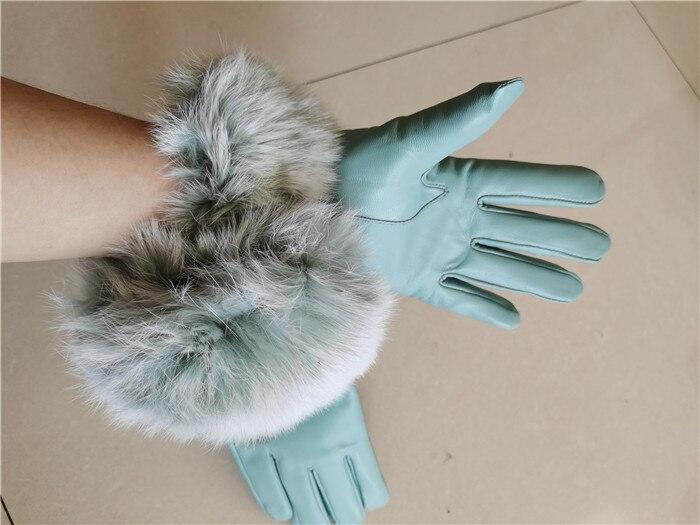 Gants en cuir véritable de haute qualité