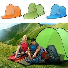 Pop Up Tent Sun Shelters Summer Cooling Polyester Durable Water Beach Tent Portable Camping Tent Outdoor Travel Hiking outdoor waterproof hiking camping tent anti uv portable tourist tent ultralight folding tent pop up automatic open sun shade