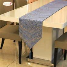 Proud Rose Nordic Table Flag Light Luxury Wave Pattern Table Runner Korean New Chinese Style Dining Table Coffee Table Bed Towel european retro luxury table runner multi spike tassel pendant fashion classic coffee table decor noble jacquard table runner