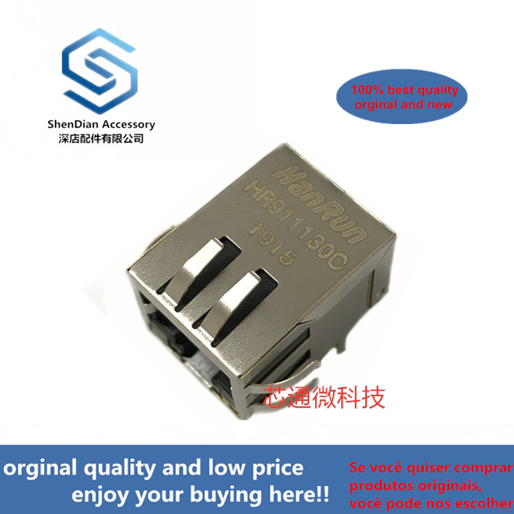 2-10pcs 100% Orginal New Best Qualtiy HR911130C RJ45 Real Photo