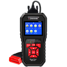 2020 le meilleur scanner automatique OBD 2 Scanner OBD2 KONNWEI KW850 plein Scanner ODB2 prend en charge le Scanner diagnostique automatique multi langues ODB 2