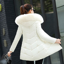 Fake Fur Parkas Women Down Cotton Jacket 2019 New Winter coats Women Thick Snow