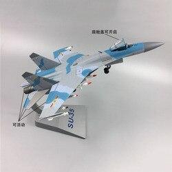 1/72 avión modelo Su 35 fighter aleación metal diecast Su35 Sukhoi Su-35 modelo de juguete para colección regalo mostrar decoración del hogar