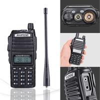 vhf uhf 2pcs Baofeng UV82 מכשיר הקשר 8W UHF & VHF כפול PTT Ham Radio אמאדור UV 82 ציד רדיו תחנת UV82 שני הדרך רדיו Comunicador (3)